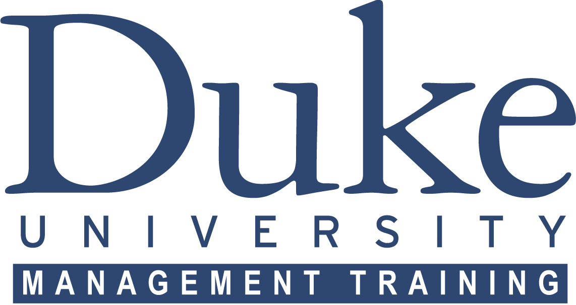 Duke University Management Training