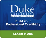 Duke Unitersity Management Training