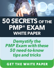 50 Secrets of the PMP Exam White Paper